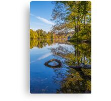 Peaceful Autumn Canvas Print