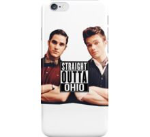 Straight outta Ohio iPhone Case/Skin