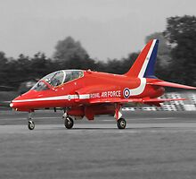 Red Arrow XX 227 by Barrie Woodward
