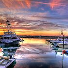 Marlin Quay Marina at Sunset by imagetj