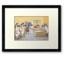 Casual Friday Framed Print