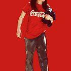 Cola Girl by konart