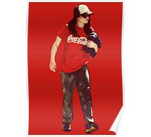 Cola Girl Poster
