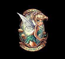 Disney Tinkerbell Tattoo by N1K0VE