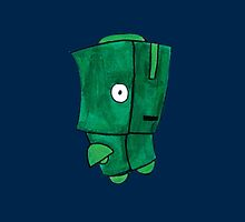 Little Green Robot by Stacey Roman