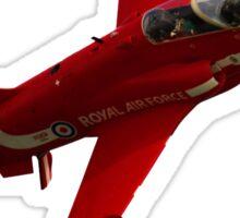 The RAF Red Arrows Display Team Sticker