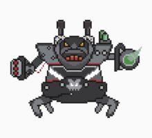 Battlecast Urgot League of Legends Pixel by Gulpun
