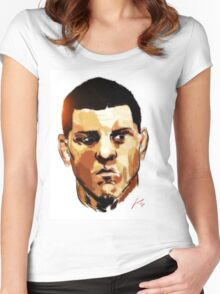 Nick Diaz Women's Fitted Scoop T-Shirt