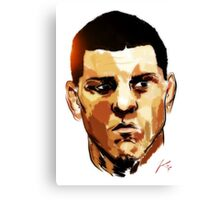 Nick Diaz Canvas Print