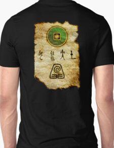 Earth Bender Scroll Unisex T-Shirt