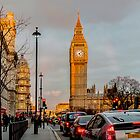 Big Ben, Golden Hour by mhfore