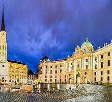 Michaelerplatz in Vienna, Austria by Michael Abid