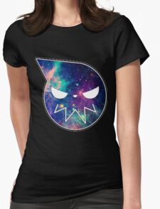 Galaxy Soul Eater Logo Womens Fitted T-Shirt