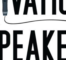 Motivational Speaker Sticker