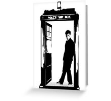 Come on Then - Dr Who Greeting Card