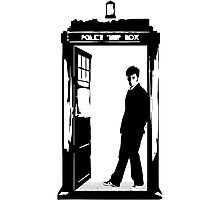 Come on Then - Dr Who Photographic Print