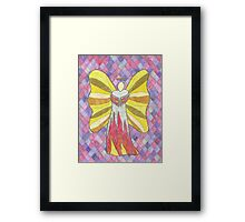 Fire Angel Framed Print