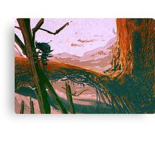 A planet Canvas Print