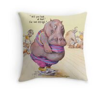 I've lost 375 Kgs! Throw Pillow