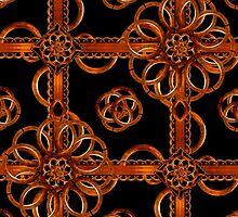 Refined Wood Decorative Pattern by DFLCreative