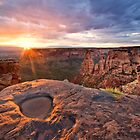 Sunrise on the Colorado National Monument by RondaKimbrow