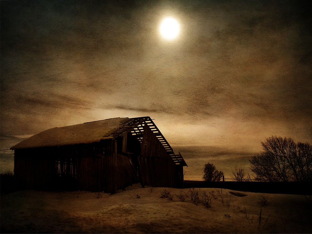 A Barn's Ending by PineSinger