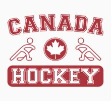2014 Winter Olympics Canada Hockey T-Shirt by xdurango