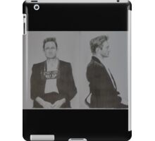Johnny Cash mugshot iPad Case/Skin