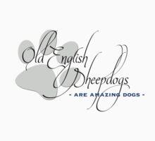 Old English Sheepdog - light colours T-Shirt