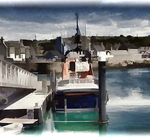Portpatrick Lifeboat- digitally enhanced by sarnia2