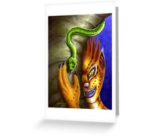 Friends at midnight Greeting Card