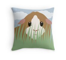 Prairie Pig Throw Pillow