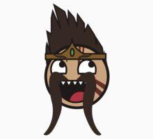 League of Legends: Draven Smiley by meowsenpai