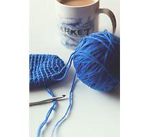 Crochet & Chai Photographic Print