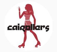 Cairollers Derby T-shirt; Red Hot Isis by Cairollers