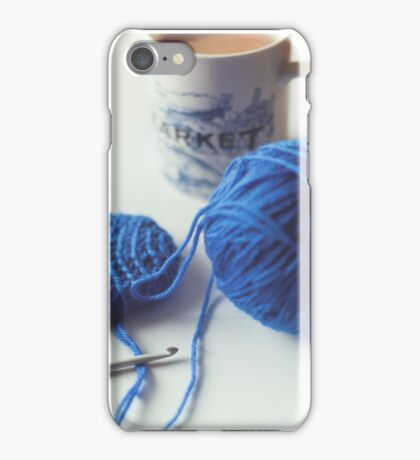 Crochet & Chai iPhone Case/Skin