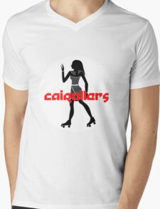 Cairollers Derby T-shirt; Isis Black Ice Mens V-Neck T-Shirt