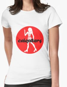 Cairollers Derby T-shirt; Isis Cherry Womens Fitted T-Shirt