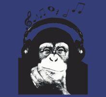 Musical Monkey by dibsterscown