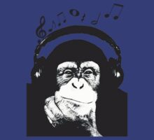 Musical Monkey by dibsterscown