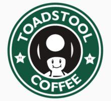 Toadstool Coffee - Traditional  Kids Tee