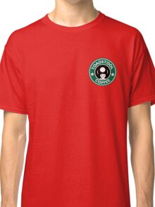 Toadstool Coffee - Traditional  Classic T-Shirt