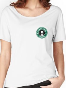 Toadstool Coffee - Traditional  Women's Relaxed Fit T-Shirt