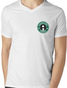 Toadstool Coffee - Traditional  Mens V-Neck T-Shirt