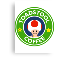 Toadstool Coffee - Themed Canvas Print