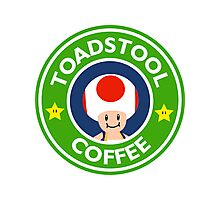 Toadstool Coffee - Themed Photographic Print