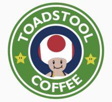 Toadstool Coffee - Themed Kids Tee