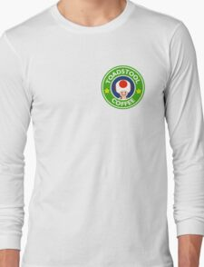 Toadstool Coffee - Themed Long Sleeve T-Shirt