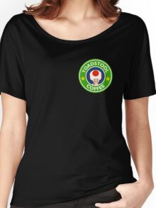 Toadstool Coffee - Themed Women's Relaxed Fit T-Shirt