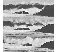Crashing Waves Photographic Print